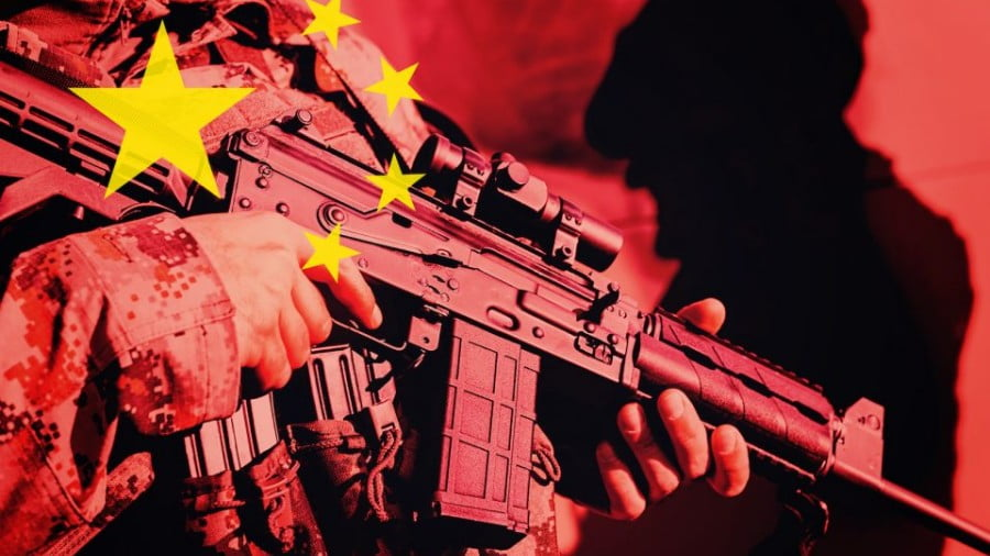 China's 'Private Army' Prowls the 'New Silk Road'