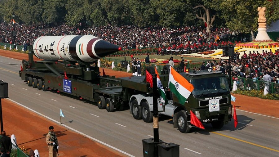 India's NATO Missile Shield Tech Will Heat Up the South Asian Arms Race