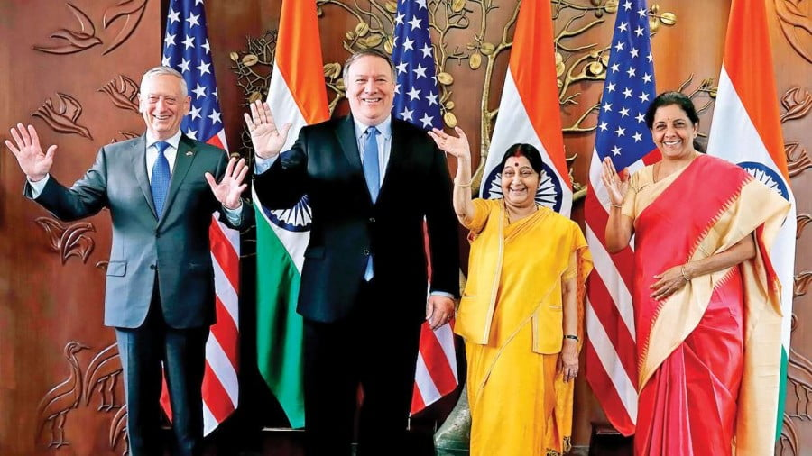 US and India 2+2 = Unprecedented Partnership Minus Strategic Autonomy