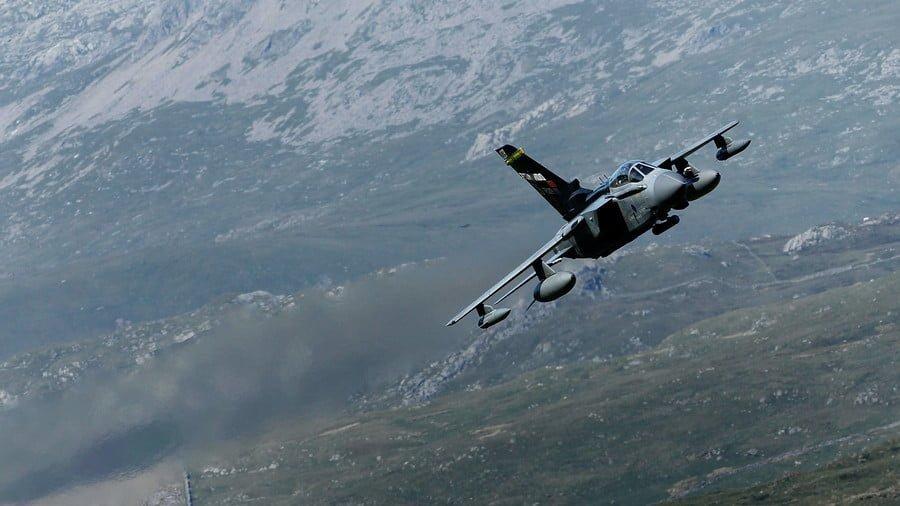 A Royal Air Force Tornado jet © Christopher Furlong / Getty Images