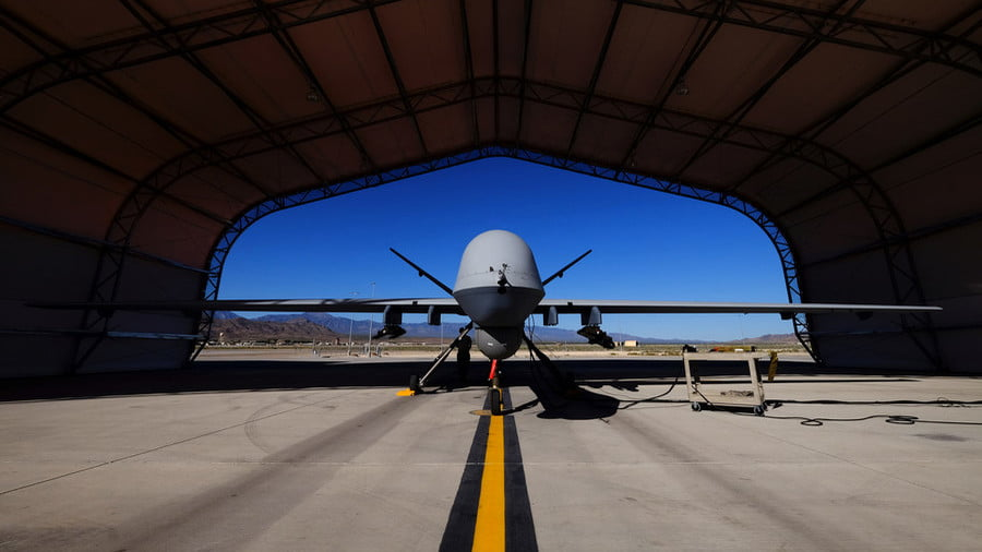 US Air Force MQ-9 Reaper drone © Josh Smith / Reuters