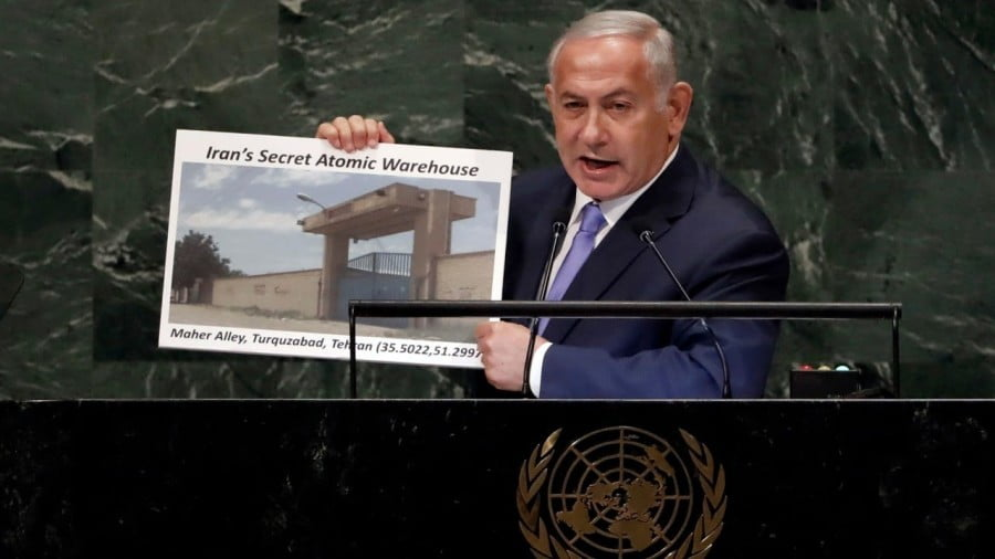 Netanyahu's Latest Ticking Iran Bomb Stunt at the UN General Assembly