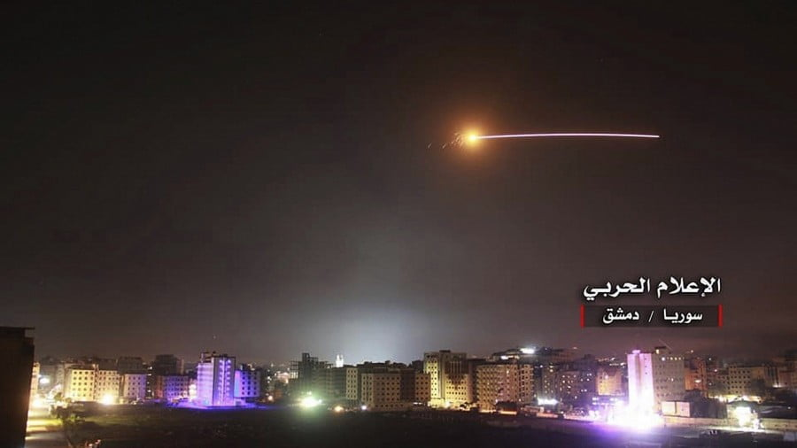 Israel Bombs Target Near Damascus as Syrian War Threatens to Escalate