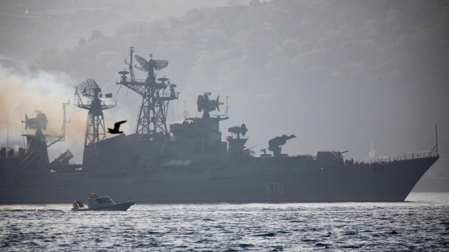 Why Is a Russian Naval Fleet Gathering Near Syria?