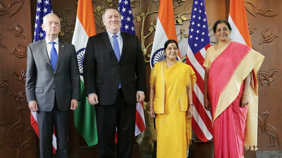 "On Some of the Aftermath of U.S. – India ""2+2″ Talks"