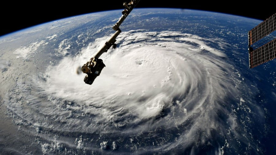 Hurricanes Give Americans Taste of Disaster Washington's Wars Bring to Others