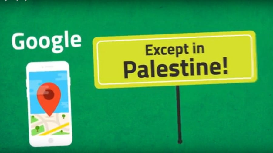 How Google Wipes Palestine Off the Map