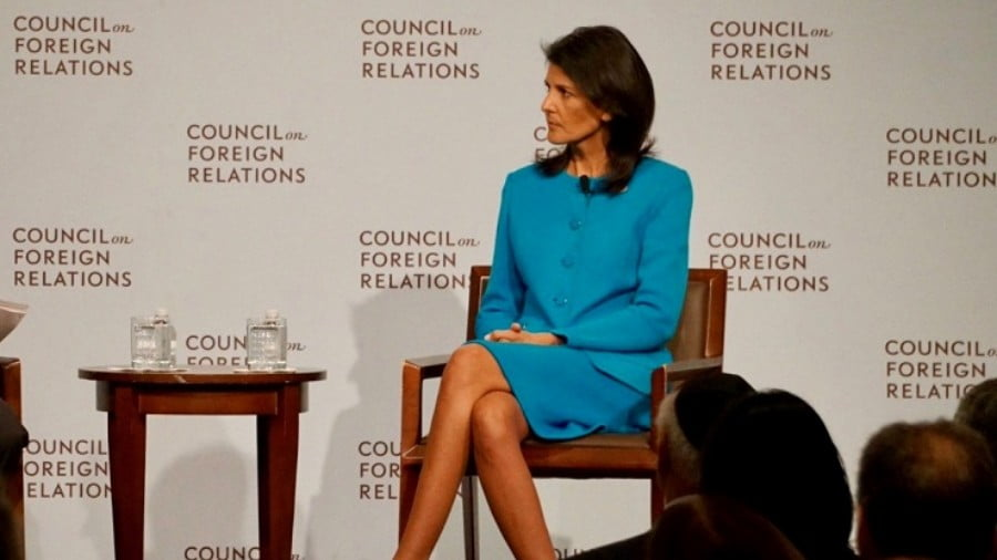 Nikki Haley Resigns: Her Presidential Hopes Scare the Hell Out of Billions