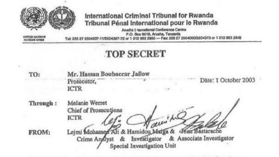 Top Secret: Rwanda War Crimes Cover-Up