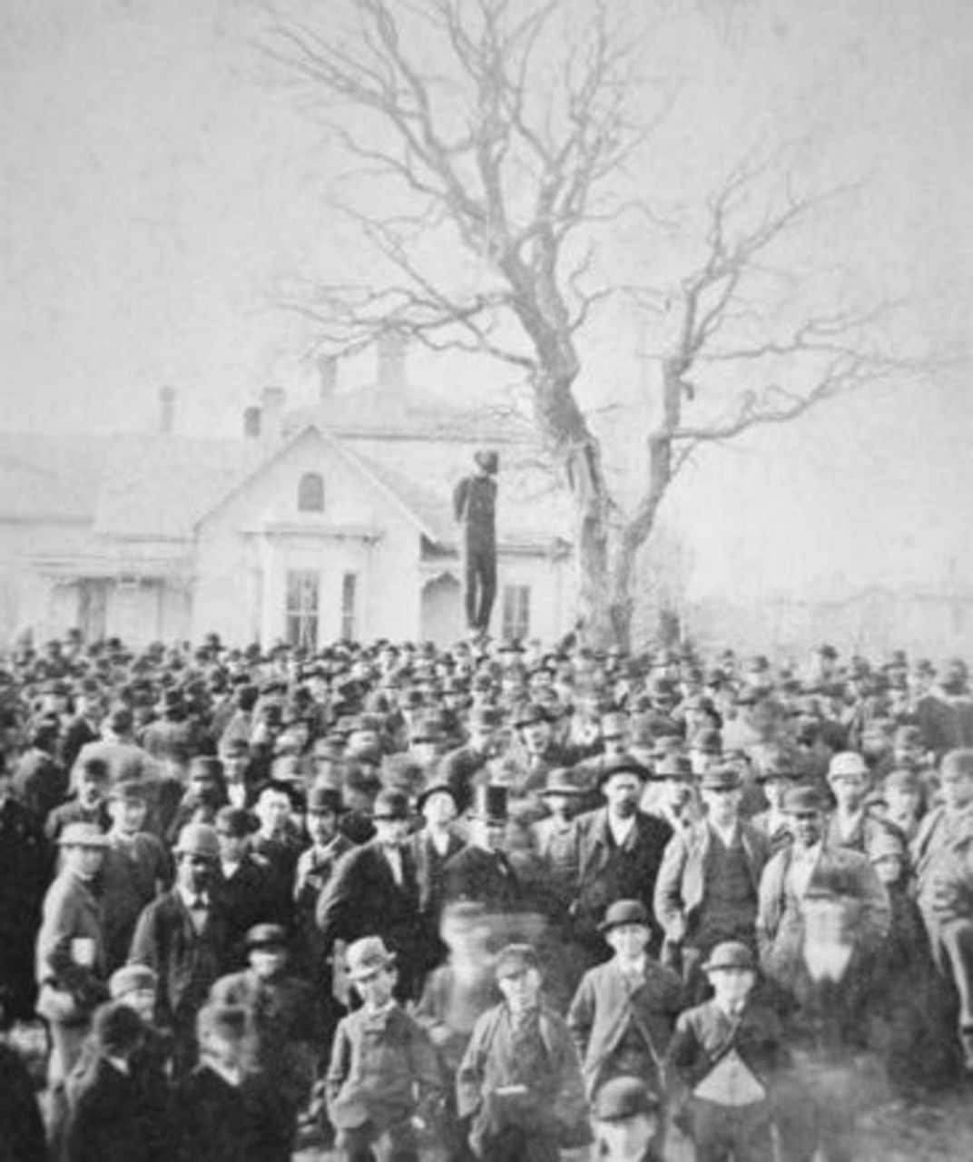 Frank McManus, lynched on accusation of rape in Minnesota, 1882