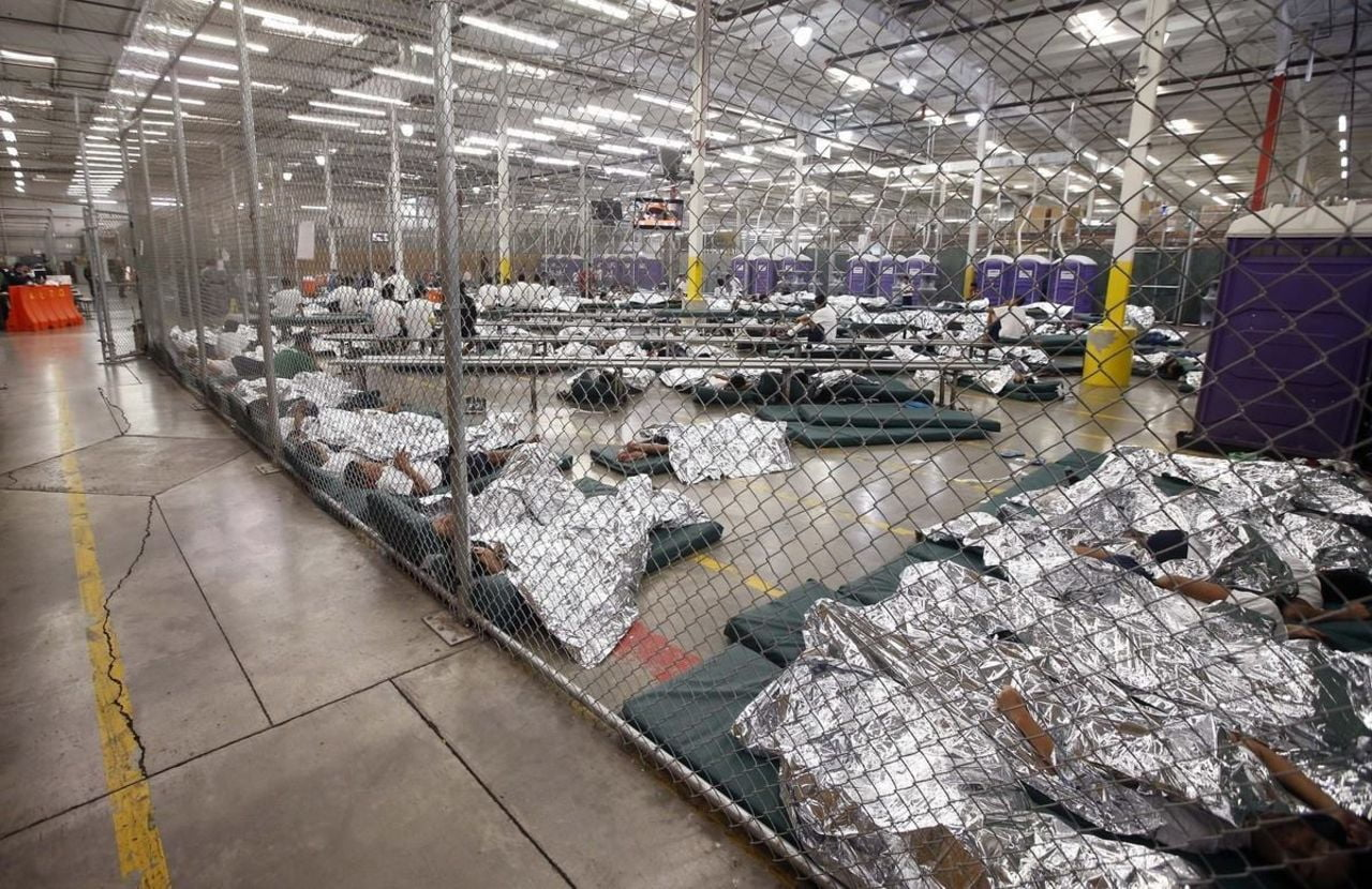 Immigrants detained in US detention centers