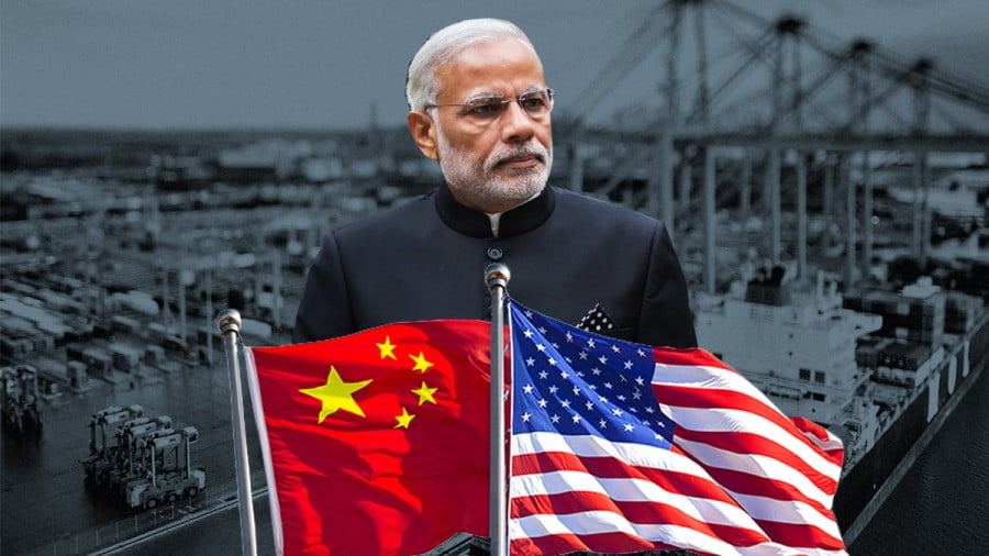 "India's Economically ""Multialigning"" in the Midst of the US-Chinese Trade War"