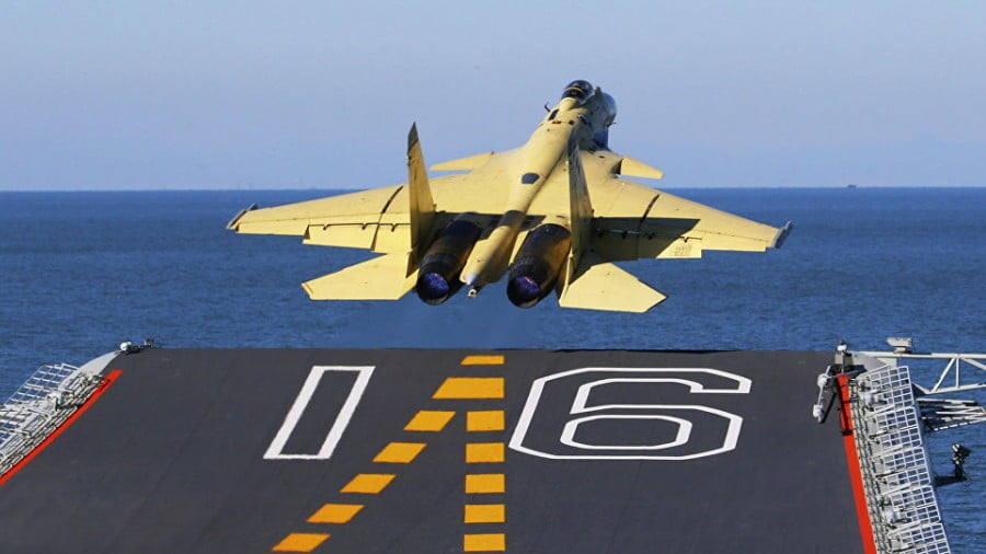 BAD COPY: China's Carrier Fighter Is a Reverse-Engineered Russian Sukhoi — And It's Ridden With Problems