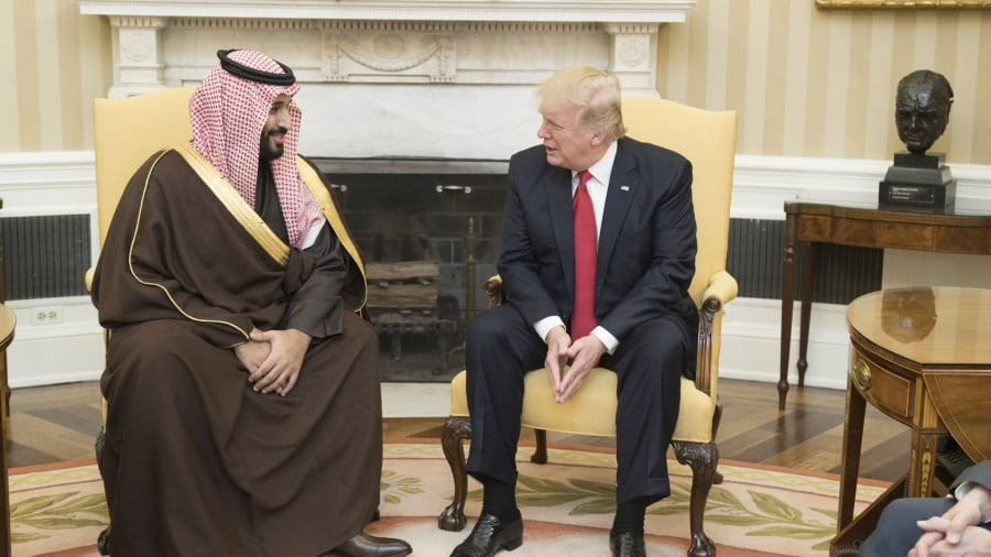 Forget Trump's Tough Talk, He's Not Going to Let the House of Saud Fall