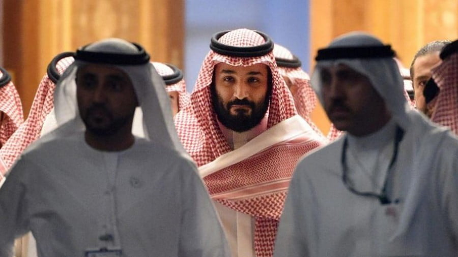 Saudi Arabia's powerful Crown Prince Mohammed bin Salman, via AFP