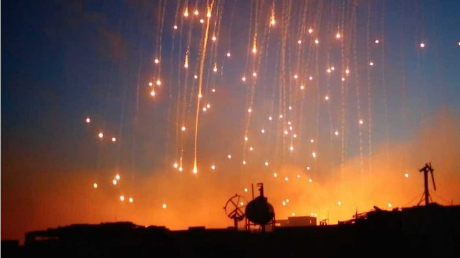United States Did It Again: Warplanes Use White Phosphorous Munitions in Syria