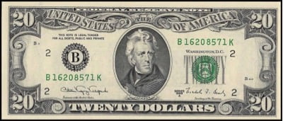 Andrew Jackson, whose portrait is shown on the 20 dollar bill, is the most controversial President of the United States.