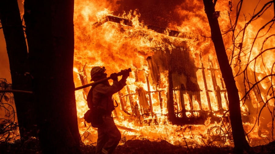 Hell Hath No Fury Like Raging California Wildfires