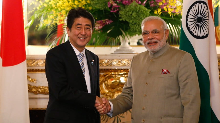 "The Indo-Japanese Partnership Is ""Balancing"" Between the US & China"