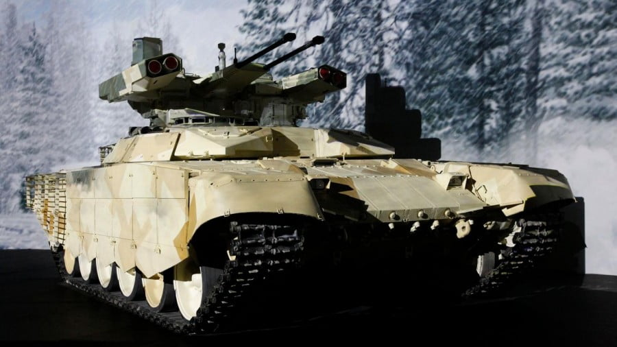 China's Newest Armored Vehicle: A 'Terminator' Tank?