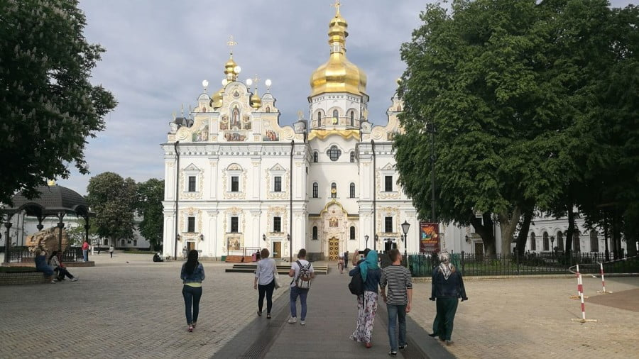 Ukraine-Russia Tensions Rise in Church Row