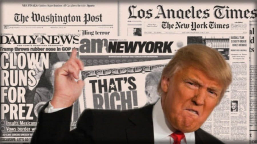 The Donald and the Fake News Media