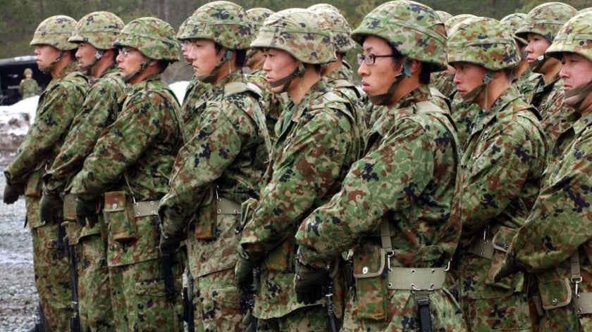 Japan Returns to Militarism