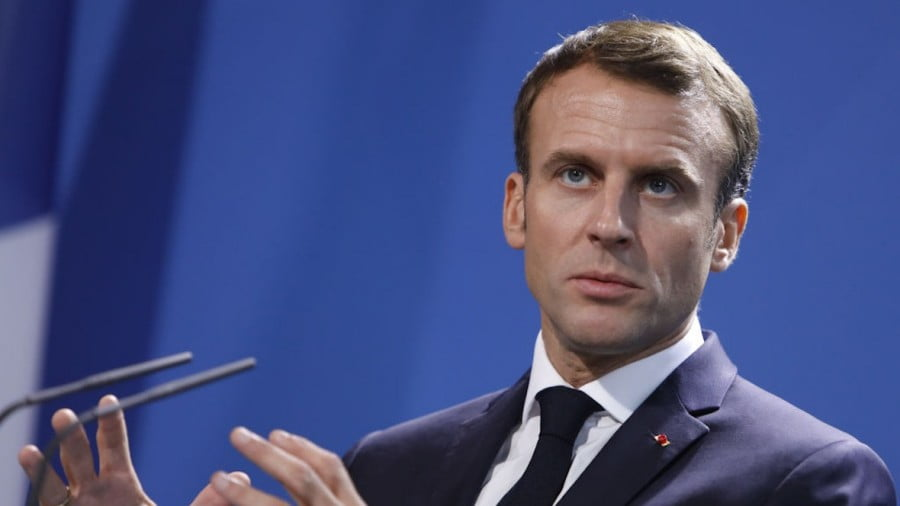 France's Meltdown, Macron's Disdain