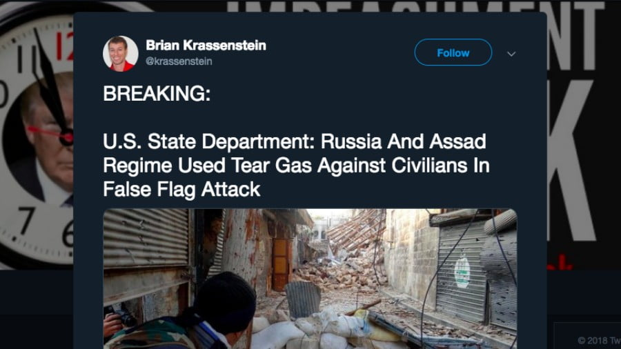 The Largest Conspiracy Theory Peddlers Are MSM and the US State Department