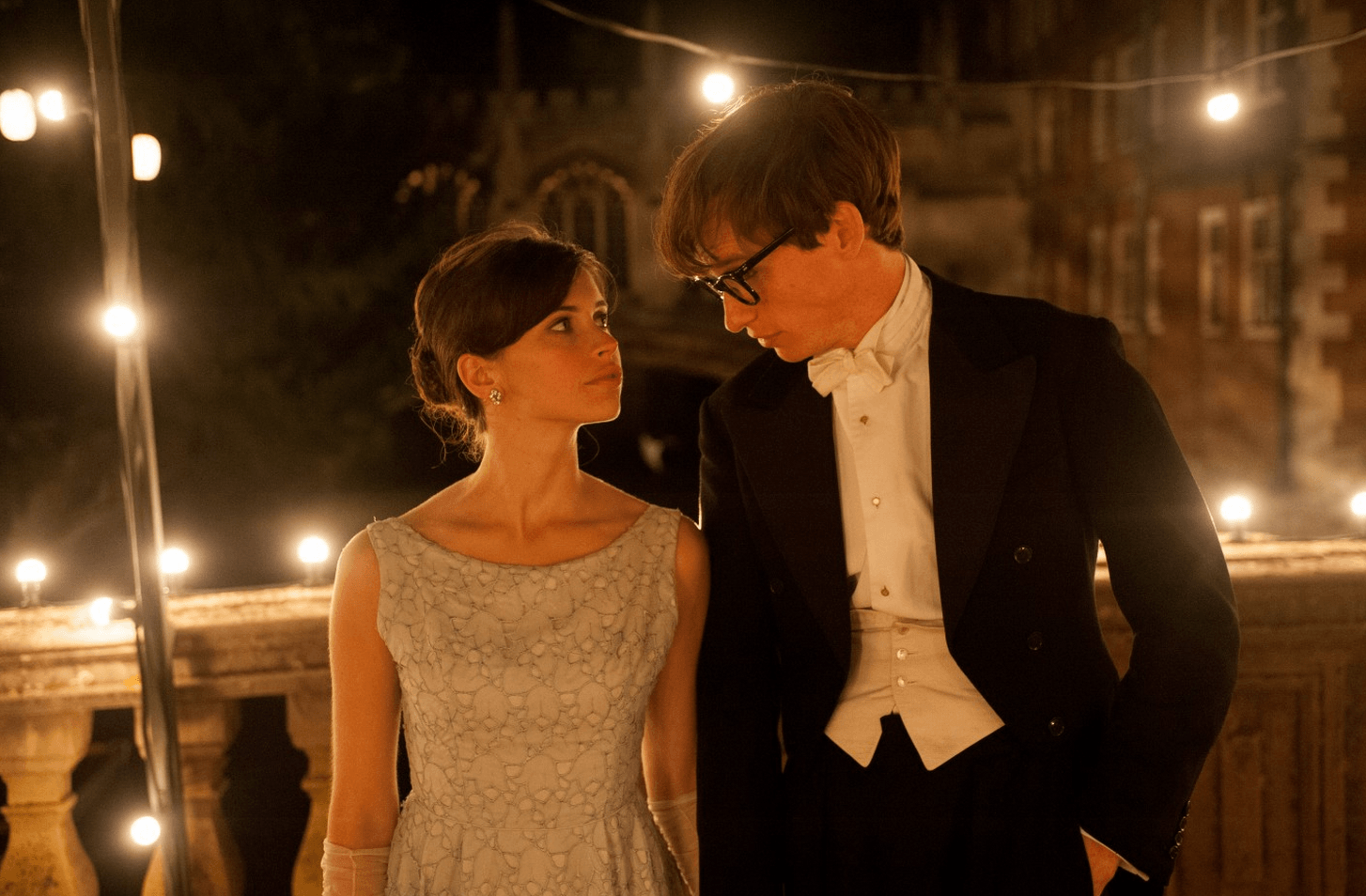 Eddie Redmayne as Stephen Hawking in The Theory of Everything