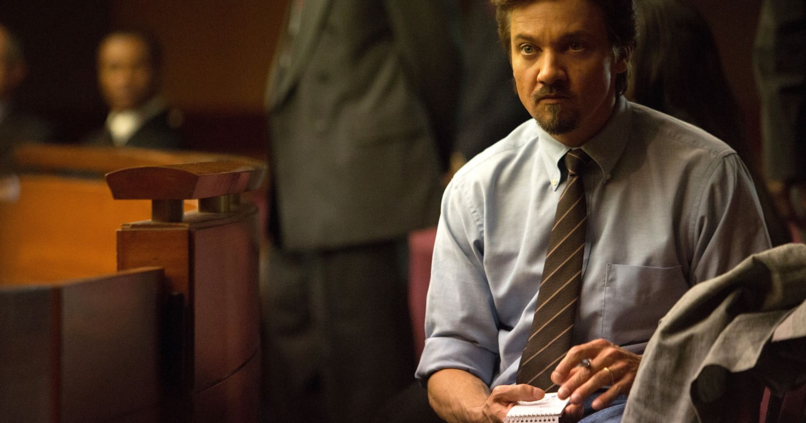 Jeremy Renner as Gary Webb in Kill the Messenger