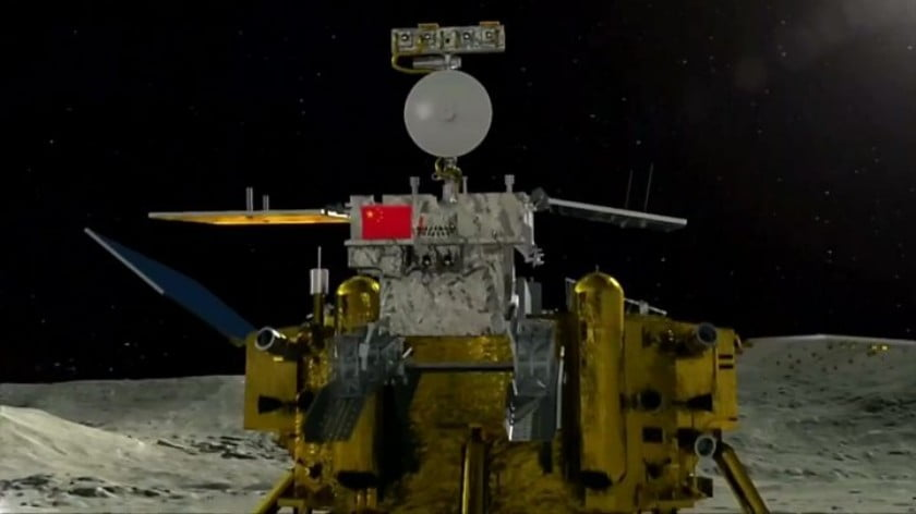 China Lands a Probe on the Dark Side of the Moon