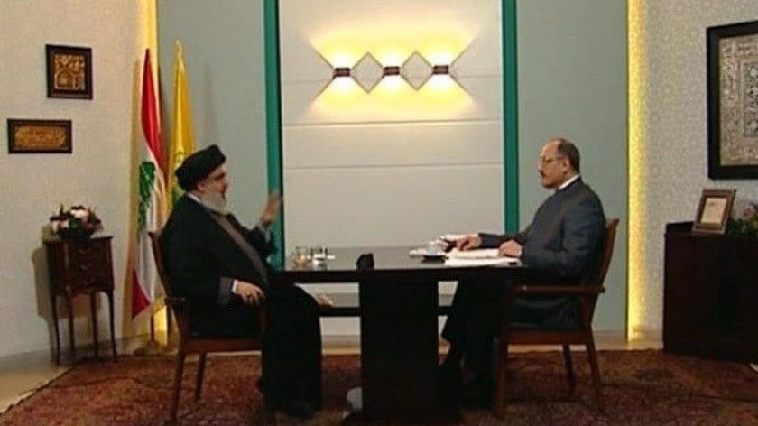 Nasrallah Challenges World Intelligence Services with a Three-Hour Live Interview