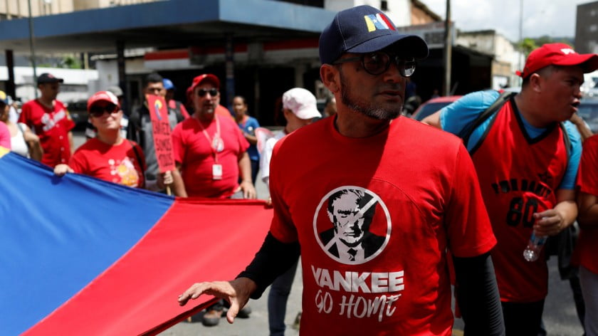 Washington Orchestrates Coup in Venezuela, Incites Civil War, in Name of 'Democracy'
