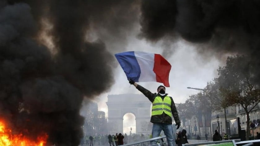 A News Chronology of France in 2019: The Year of Yellow Vest Rebellion