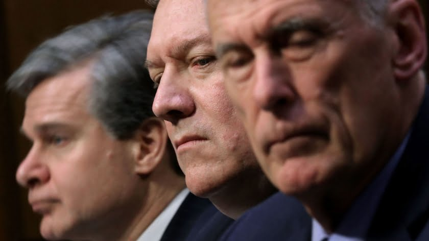 "Intel Chiefs Use ""Global Threat"" Report to Uphold US War Machine"