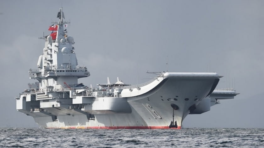 Chinese Aircraft Carrier to be Sold to Pakistan