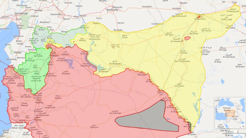 Syria Sitrep – Trump Says U.S. Will Leave But Pentagon Keeps Adding Forces