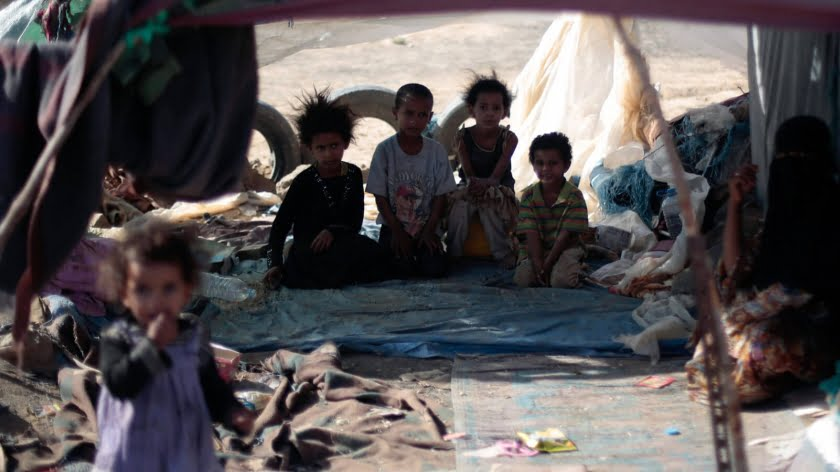 With 3.8 Million Yemenis Displaced Last Year, New Report Shows Country's Crisis Growing Worse