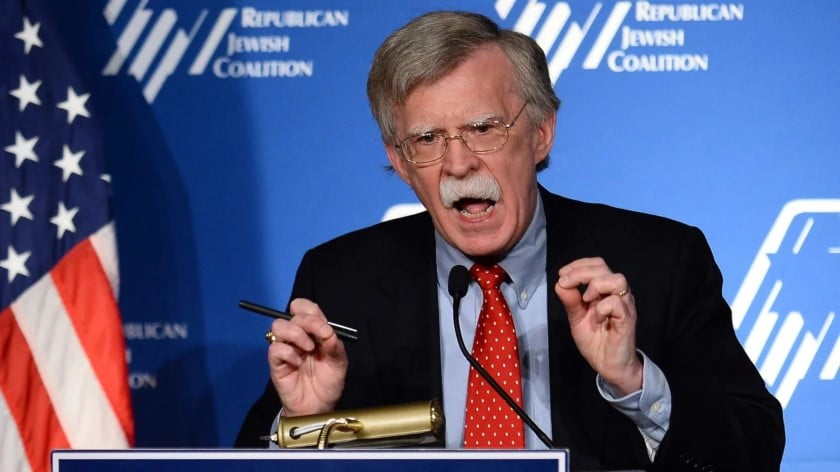 "Bolton Is Ready to Build ""Fortress America"""
