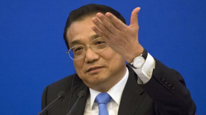 China's Premier Li Keqiang will co-chair the annual China-EU summit in Brussels on April 9. Photo: AFP