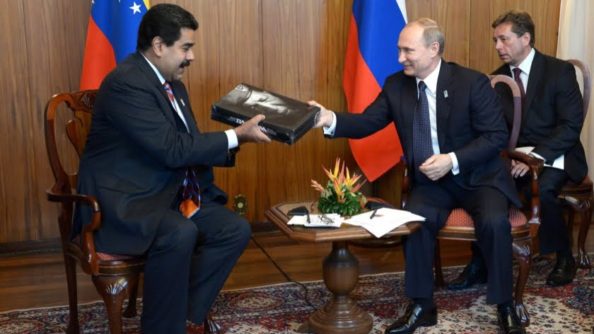 Russia Officially Rubbished Alt-Media's False Reports about a Venezuelan Base