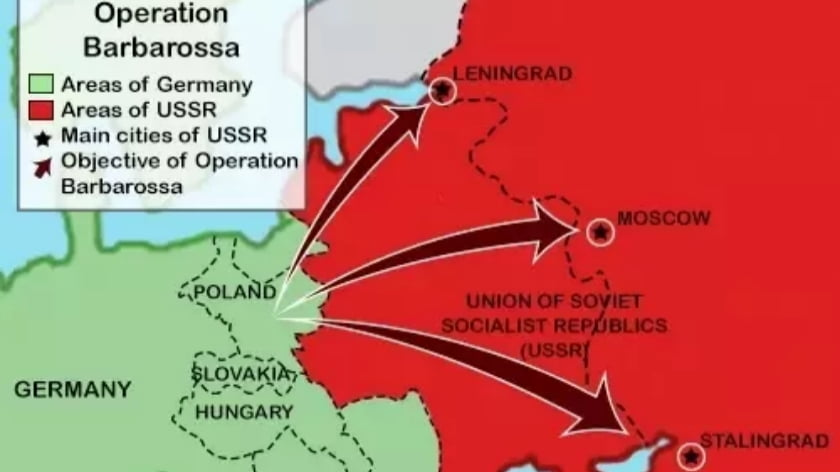 Why Germany Attacked the Soviet Union