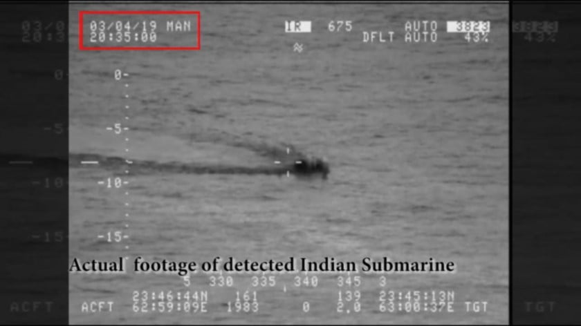 Pakistan's Indian Sub Interception Proves the Importance of the Country's Navy