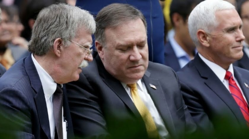 John Bolton and Mike Pompeo Defy the International Criminal Court