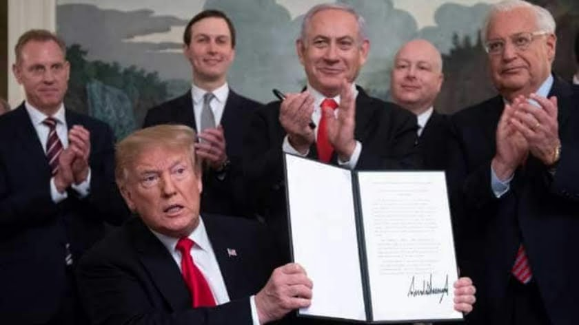 Trump Recognizes Israeli Annexation of Golan Heights: Green Light for Global War