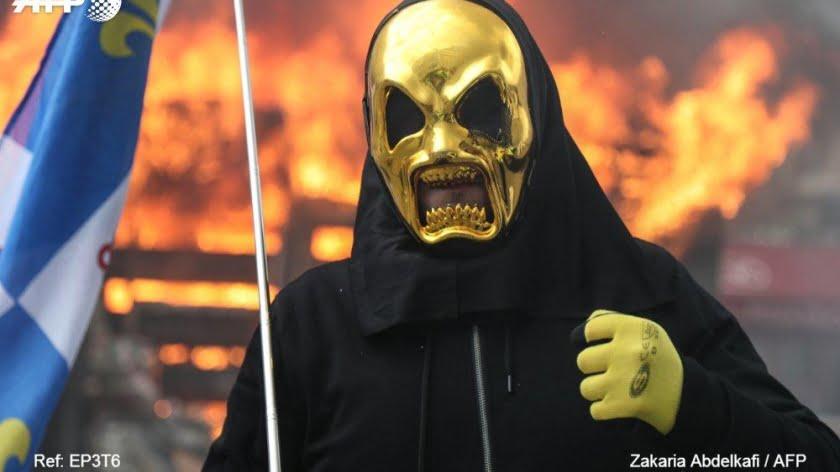 Yellow Vests Turn Violent as Macron's 'Great Debate' Ends