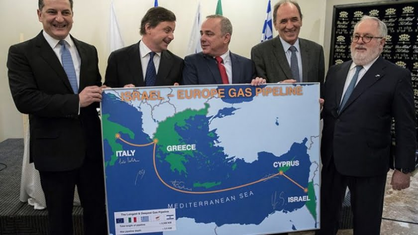 """The Greece Israel Cyprus Axis"" (GRISCY): The US Key to Containing Multipolarity in the Eastern Mediterranean?"