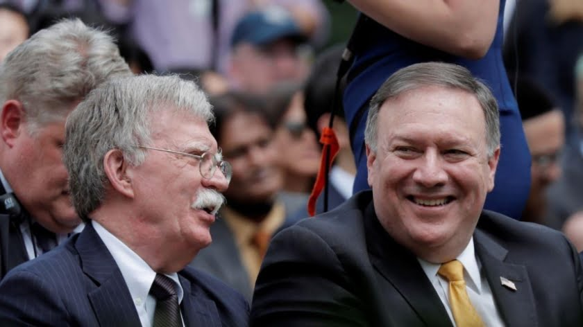 Bolton Is Doing Everything He Can to Instigate a War with Iran