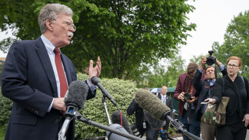 Is Bolton Steering Trump Into War with Iran?